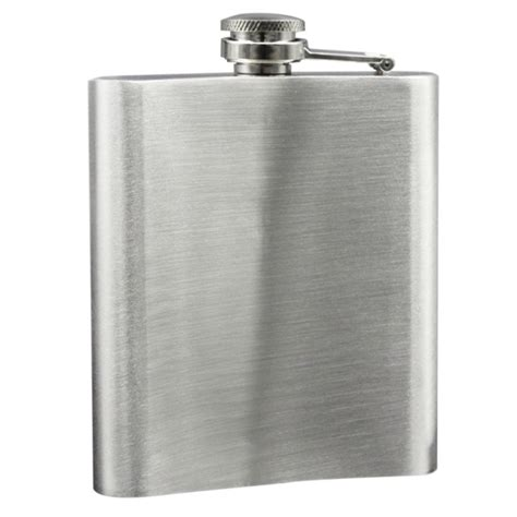 Stainless Steel Hip Flask 7 Oz 7 oz portable stainless steel silver hip liquor whiskey pocket hip flask ebay
