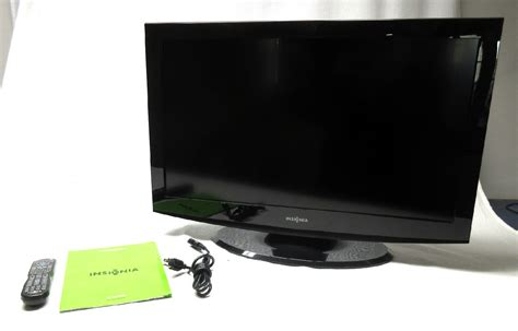 Tv Lcd Ns insignia 32 quot 720p lcd television model ns 32l430a11 black ebay