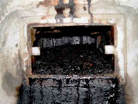 Fireplace Creosote by The Chimney Ltd Creosote