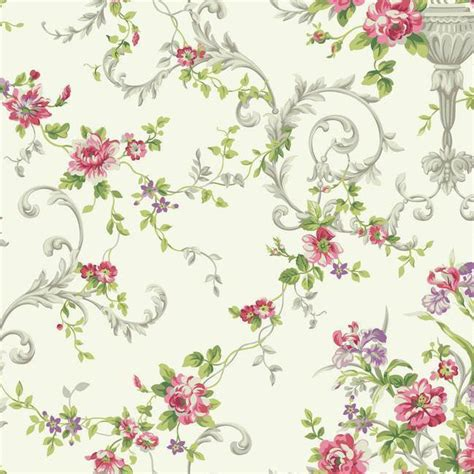 flower wallpaper ebay wallpaper traditional victorian floral vine flowers in