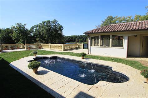 roman pool design leisure roman fiberglass pool bluewater swimming pools