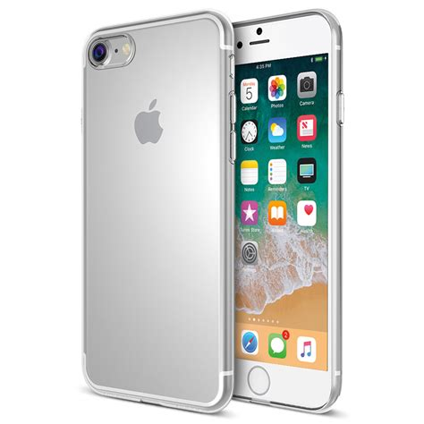flexi gel for apple iphone 8 plus 7 plus clear