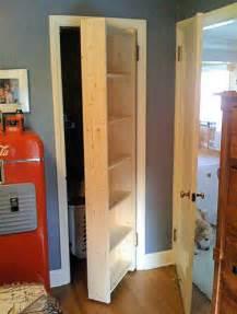 Closet Door Shelves Secret Bookcase Closet Door Stashvault