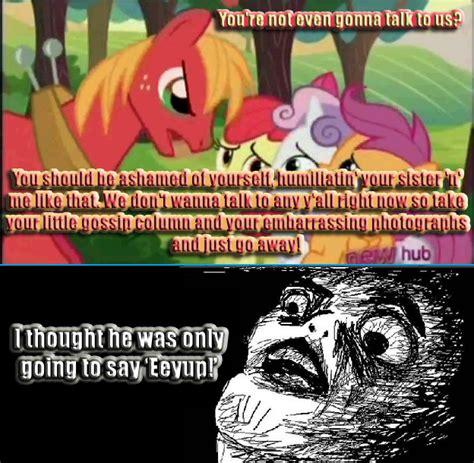 Big Mac Meme - talkative big mac my little pony friendship is magic