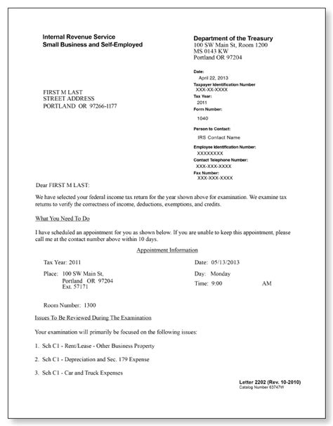 Closing Response Letter Business Letter For Irs Sle Sle Business Letter