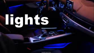 Audi Lighting Package 2017 Audi A4 Interior Lights