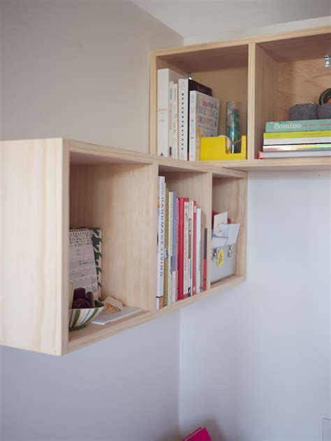 how to build a cube shelf doityourself