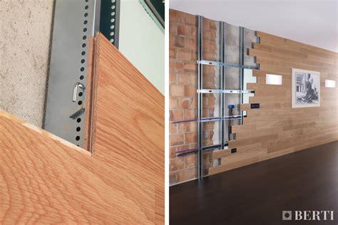 rivestimento legno parete berti consiglia le boiserie il parquet come rivestimento