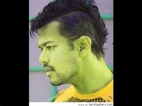 vijay jilla hairstyle vijay acting with two types of hair styles two types of