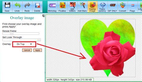overlay  blend images   image editor