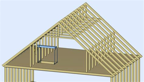 Gambrel Pole Barn Plans by All About Attics Byers Products Group