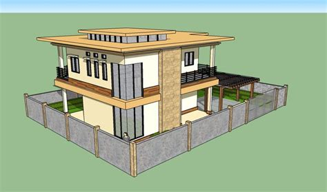 using sketchup for home design house in sketchup by karlowee on deviantart