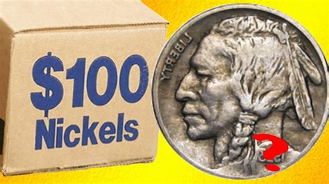 best nickel roll hunt ever coin roll hunting nickels search for silver youtube