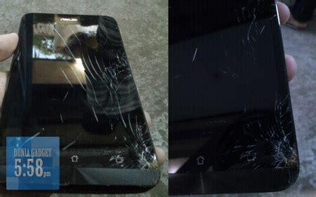 apakah layar dengan gorilla glass bisa pecah tergores