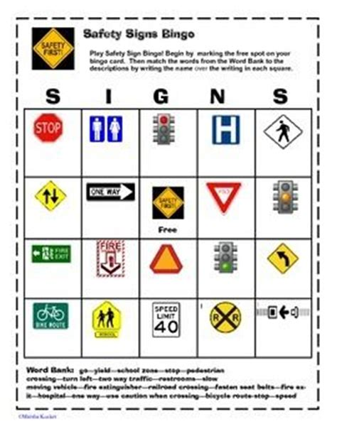 Safety Signs Worksheets by All Worksheets 187 Safety Signs Worksheets Printable