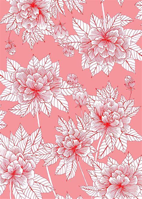 flower pattern china chinese flower pattern on behance