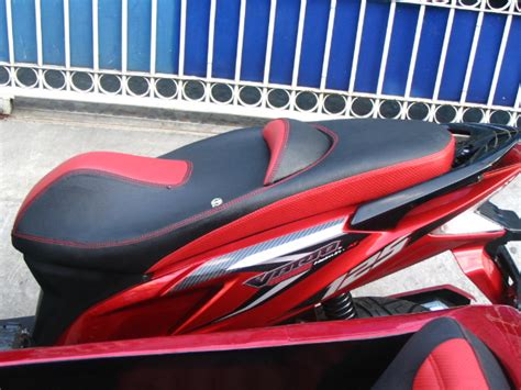 Karpet Dasar Vario 125 modifikasi jok motor jok vario 125 with sespan pesanan mr