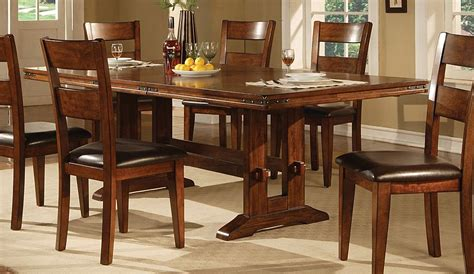 Ethan Allen Dining Room Table Sets by Oak Dining Room Tables Dark Oak Dining Table Deep Brown