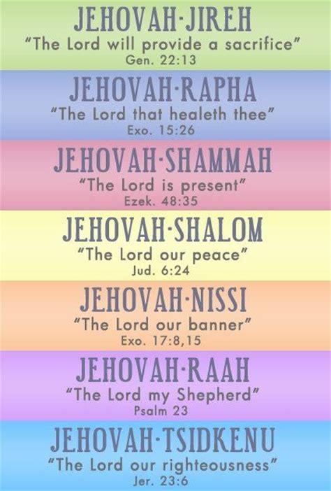 prayer meaning best 25 names of god ideas on gods promises