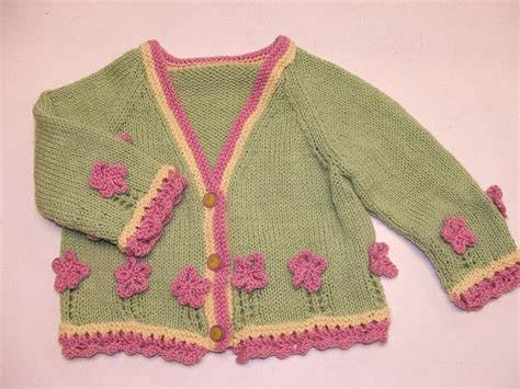 Wst 10259 Flower Knit Cardigan 126 best knitting for images on knits