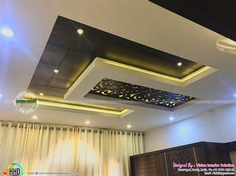 False Ceiling Designs For Master Bedroom False Ceiling For Master Bedroom Furnished Master Bedroom Interior Kerala Home Design And