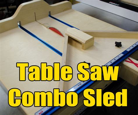 table saw sled dimensions table saw cross cut miter sled combo woods woodworking