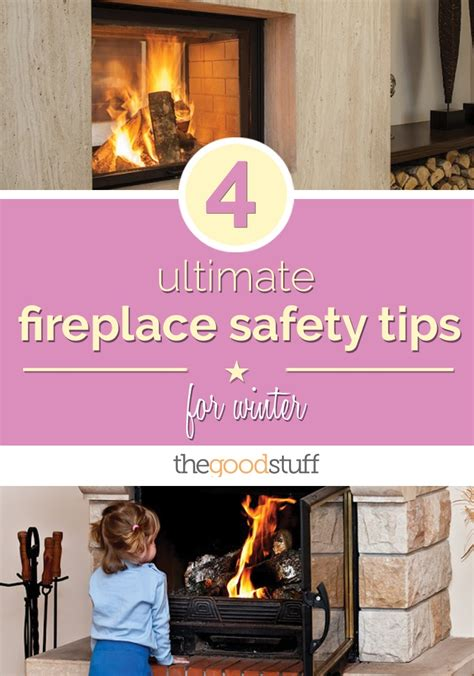 fireplace safety home design