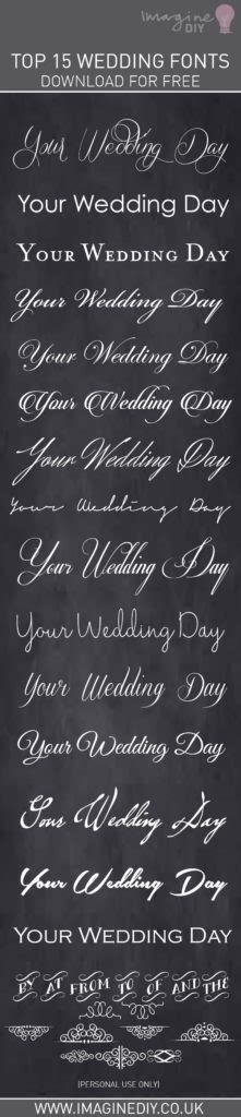 Free Wedding Fonts Uk by Wedding Fonts Free Downloads Imagine Diy