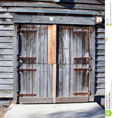 Barn Door Images Barn Door Stock Image Image Of Grey Rural Hinges Weathered 570539
