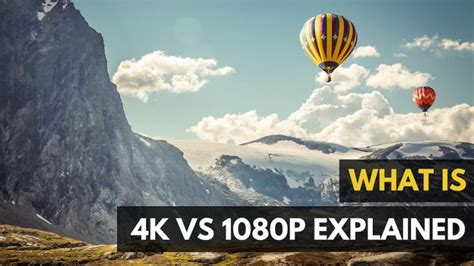 imagenes 4k vs full hd 4k vs 1080p