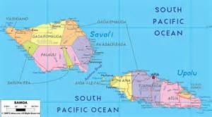 samoa map world political map of samoa ezilon maps