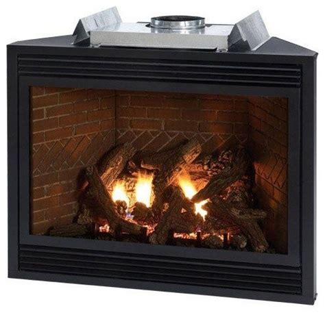tahoe luxury multi functional 36 quot direct vent fireplace