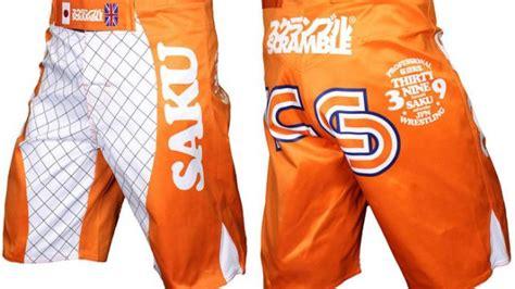 Saku Kazushi Sakuraba by Scramble X Sakuraba Saku 39 Shorts Fighterxfashion
