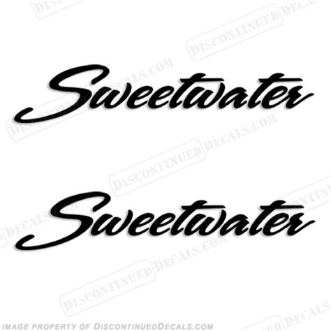 pontoon boat decals stickers sweetwater pontoon boat logo decals any color