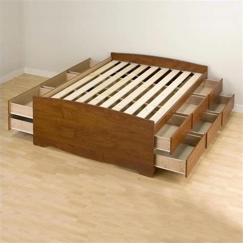 full queen storage platform bed 4 piece bedroom set cherry queen wood platform storage bed 4 piece bedroom set