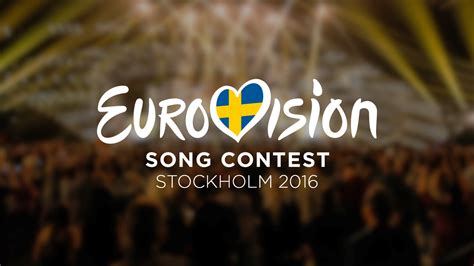 song for 2016 eurovisie songfestival 2016 in stockholm