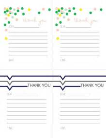 printable thank you notes for children today s creative