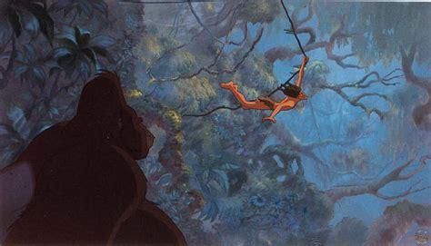 tarzan the jungle man swinging from a rubber band tarzan 1999 disney movie that caps the renaissance