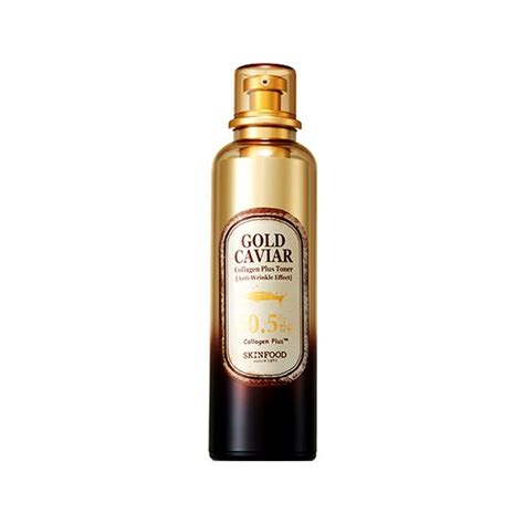 Caviar Shoo Malaysia skinfood gold caviar collagen plus toner korean cosmetic