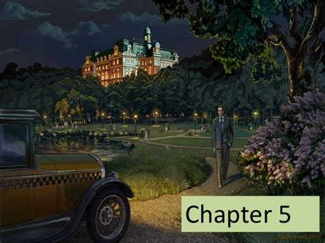 The Great 1 quot the great gatsby quot chapter 5