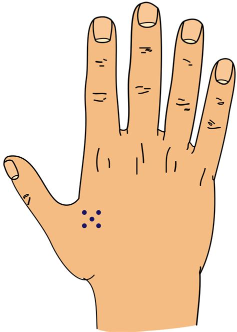 file 5 dots tattoo svg wikimedia commons