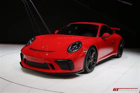 Porsch 911 Gt3 by Geneva 2017 Porsche 911 Gt3 Type 991 2 Gtspirit