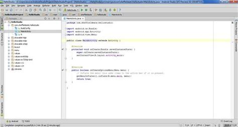 android studio r layout activity main getting started with google s android studio developer com