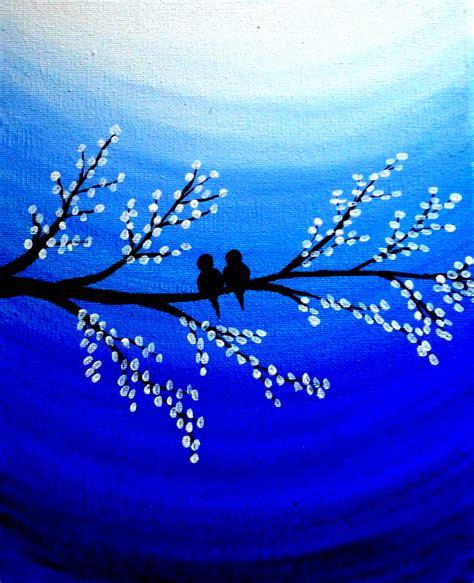 acrylic painting on canvas birds sale birds original acrylic canvas painting