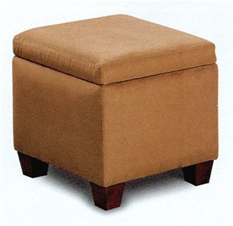 affordable storage ottomans cheap ottomans and footstools rating review brown