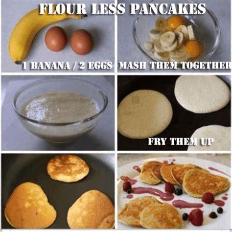 how to make pancake in less than 5 minutes cara membuat flour less banana pancakes 2 ingredients amazing fit