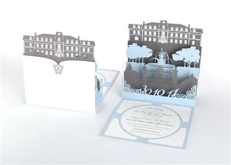 laser cut pop up card template laser cut pop up invitation laser cut wedding invites