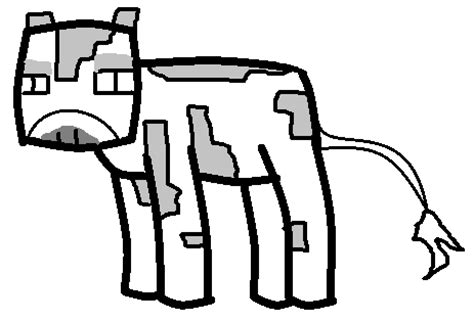 minecraft cow template cow template minecraft fanfictions wiki fandom powered