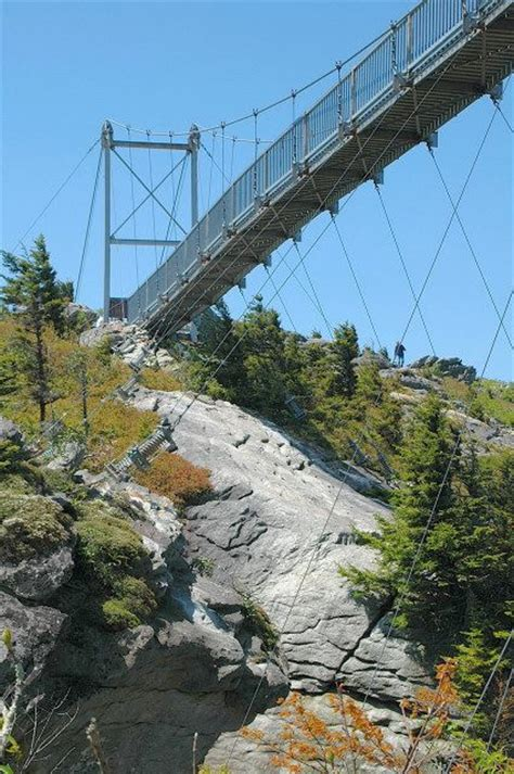 mile high swinging bridge blowing rock nc 1000 images about my state north carolina on pinterest