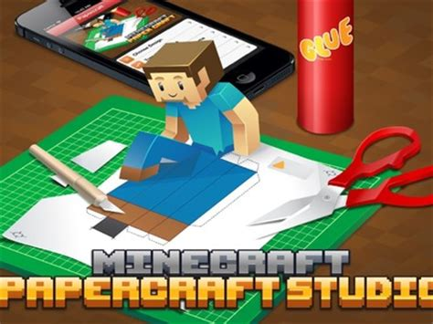 Minecraft Papercraft Studio App - papercraft
